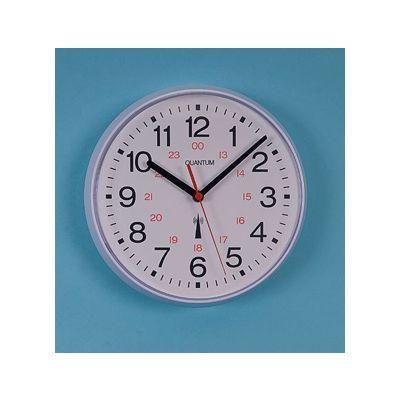 Radio Controlled Plastic Clock 8.5