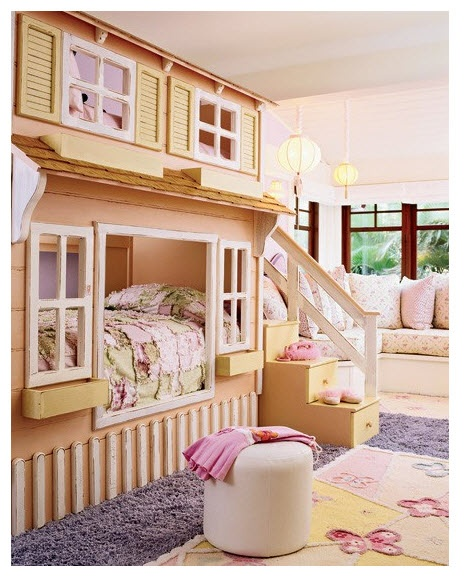 Cool Kids Room Ideas: Bunk Bed -- This Would Have Been So Cool When They Were