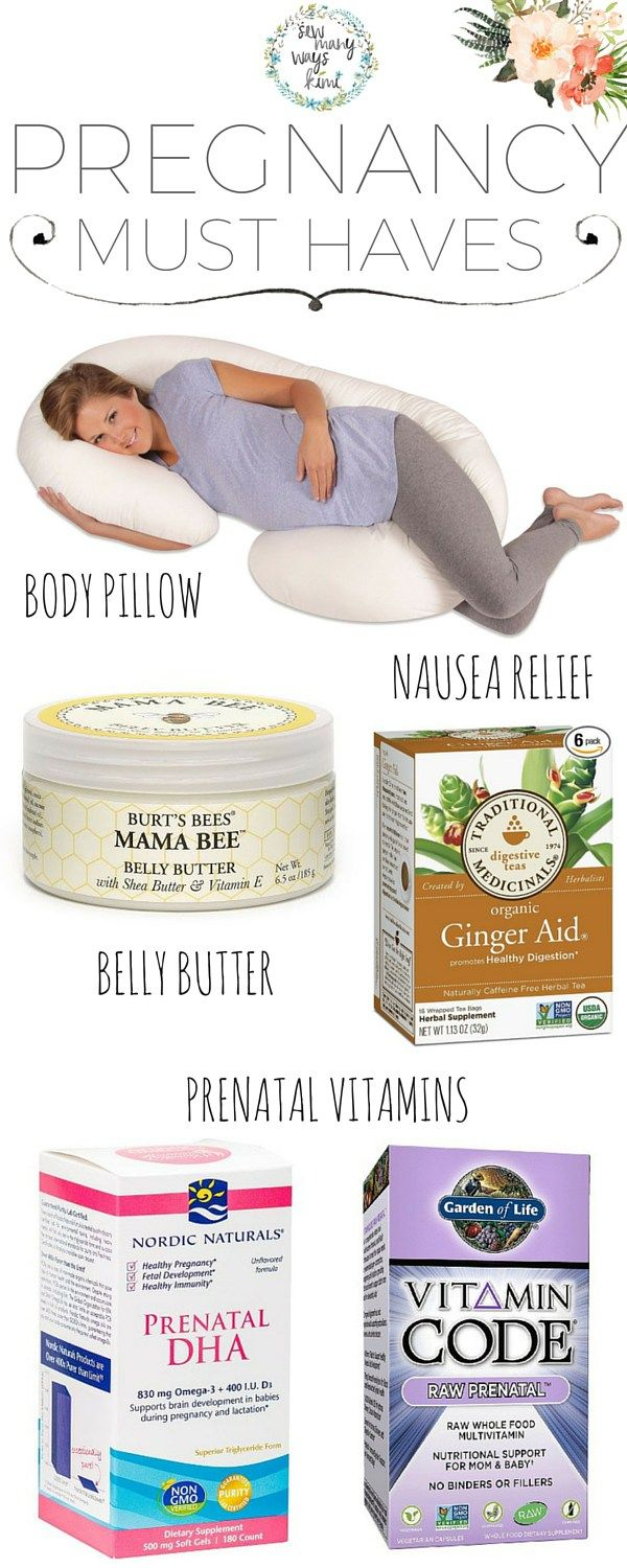 Pregnancy must have items for a more comfortable and healthy pregnancy. Relieve nausea, back aches, and stretch marks. Give your baby the best with these healthy prenatal vitamins to support your baby.
