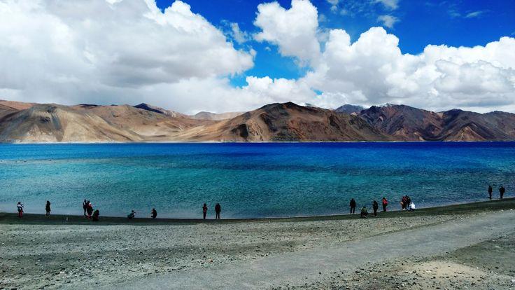 Beautiful Pangong lake
