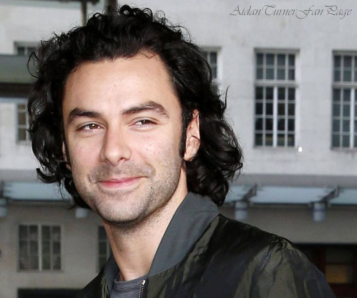 Aidan Turner fan page -  Final image for today is a fab smiley HQ photo taken as Aidan arrived at the BBC broadcasting house at the end of August and in honour of #WorldSmileDay. Aidan just has the best smile ever!