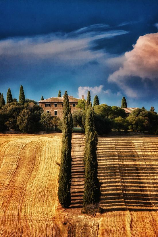greatlittleplace:  San Quirico d'Orcia, Tuscany, Italy http://bit.ly/1q3m2eP