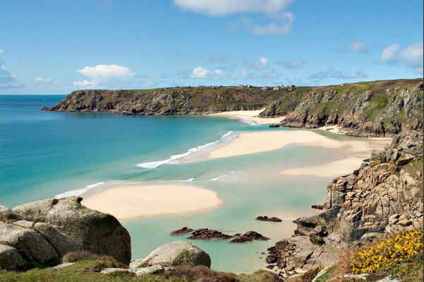 Porthcurno, Cornwall - 21 UK beaches to visit