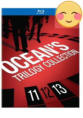 #amazing <p> #Ocean's #Trilogy Collection: (BD) (Ocean's Eleven, Twelve & Thirteen)</p><p>START POWER YOU CAN BET ON  Danny Ocean (George Clooney) leads a group of...