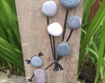 Spiaggia ghiaiosa Art pietra immagini Up Up e di PumpkinandParsnip