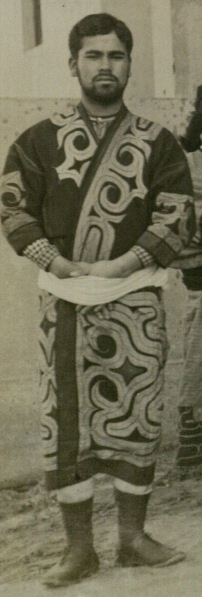 Goro; An Ainu who participated in the St Louis Exposition (1904). Was excited to explore the world.