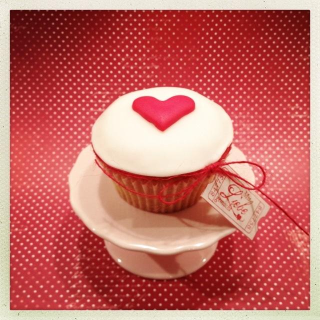 Valentine's cupcake ;-)