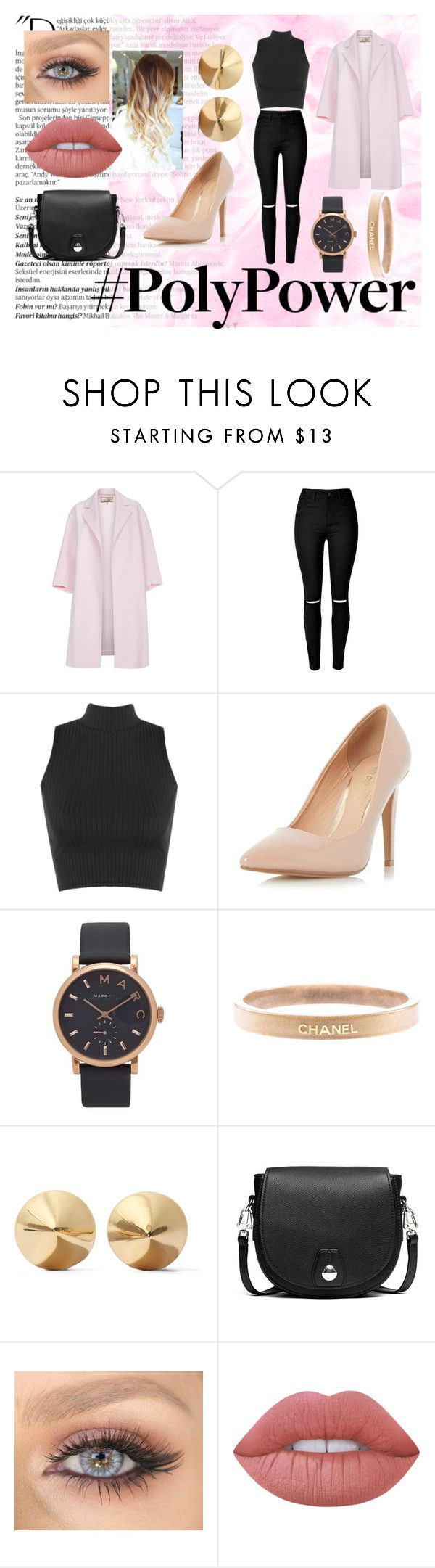 """""""What's Your Power Outfit?"""" by lilyrose2000 on Polyvore featuring Balmain, Paul Smith, WearAll, Dorothy Perkins, Marc Jacobs, Chanel, Eddie Borgo, rag & bone, Lime Crime and BlackAndPink"""
