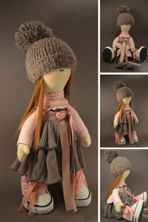 Bambole Puppen Rag doll Handmade doll Tilda by AnnKirillartPlace