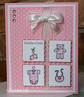 Baby Bundle GIRL by anne_marie - Cards and Paper Crafts at Splitcoaststampers