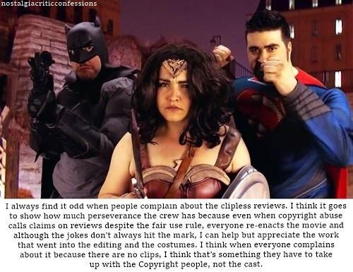 Nostalgia Critic Confessions