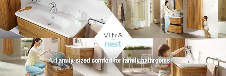 Vitra - Family sized comfort for family bathrooms.