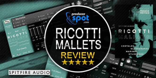 Review: Ricotti Mallets Kontakt Library by Spitfire Audio