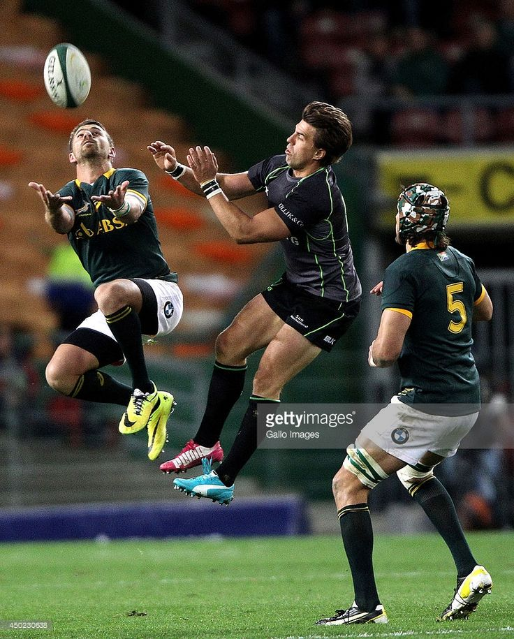 Willie le Roux of the Springbok in action during the International match between South Africa and...