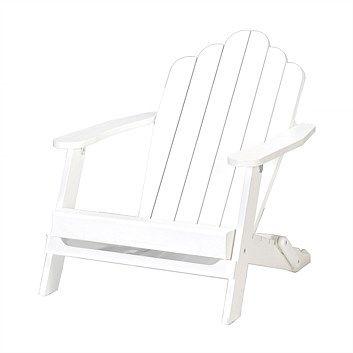 Briscoes - Wooden Cape Cod Chair White