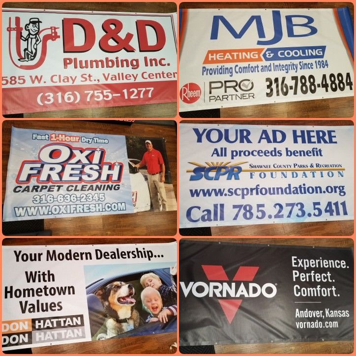 We printed these mesh banners for ASA Marketing. .   Knox Signs & Graphics 5612-D SW Topeka Blvd. - Topeka, KS 66609 Ph. 785.408.5160 Shannon Engler: Cell 785.383.8139 Shannon@KnoxWrapps.com or Kaitlyn & Brandi: Office@KnoxWrapps.com www.KnoxWrapps.com  ▪ Signs ▪ LED Signs▪ Monuments Signs▪ Channel Letters ▪ 3M Graphics ▪ Custom Wraps ▪ Pens ▪ Shirts ▪ Hats ▪ Trade Show Booths ▪ Banner Stands ▪ Business Cards ▪ Envelopes ▪ Post Cards  ▪ Brochures ▪ Koozies ▪ Yard Signs ▪ Banners ▪ IF YOU…