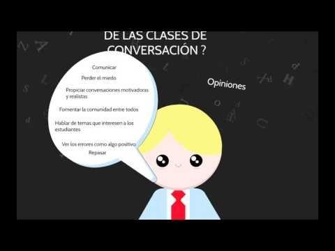 Vídeo resumen con las principales ideas de nuestra #charlaELE1 sobre cómo trabajarla conversación en la clase de ELE. http://educaglobal.es/2016/11/la-conversacion-en-la-clase-de-ele-charlaele1/