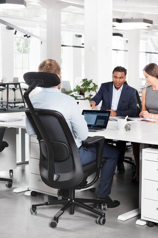 HÅG SoFi Mesh helps improve focus and general well-being #InspireGreatWork #design #ergonomics #chair #Scandinavian