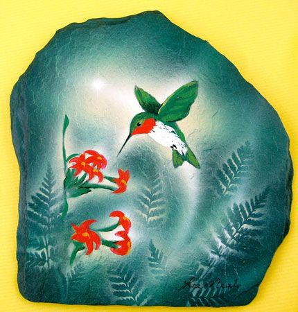 56 Best Slate Painting Images On Pinterest Painted Rocks