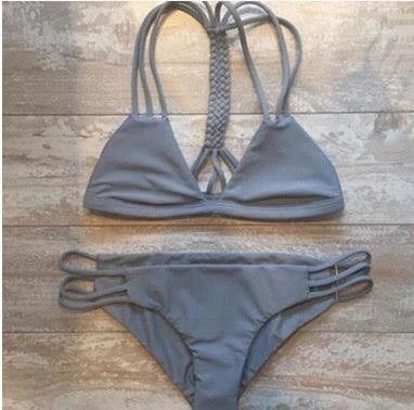 Gray Bikini Set
