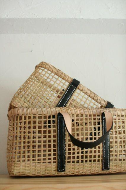 warang wayan ami ami lama (A) bamboo basket (large) - web shop | Furipon-Furipon'nu