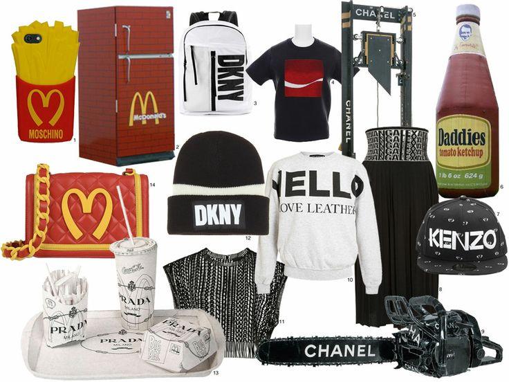 Fast food and logo mania - RedMilk