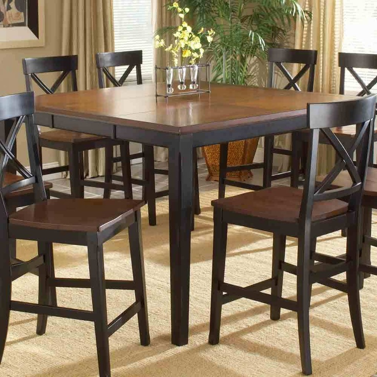 Dining Room Table: Dining Rooms Sets,  Boards, Gathering Tables, Height Dining, Dining Rooms Tables, Dining Sets, Dining Tables, Counter Height, Black Counter
