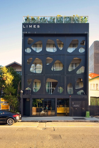 The Limes Hotel designed by Alexander Lotersztain