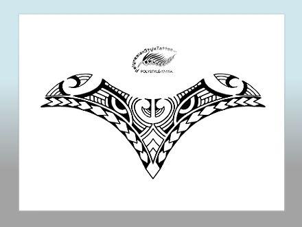 Polynesian Style Tattoo Designs Seite zwei