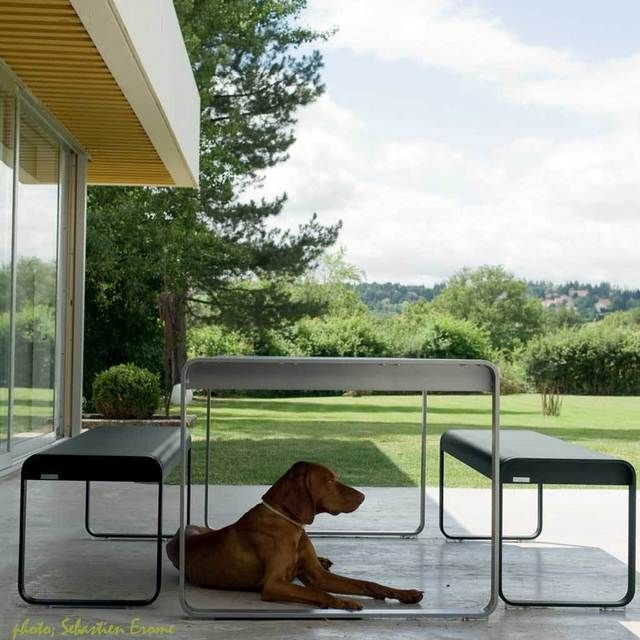 Bellevie Table by Fermob Outdoor Furniture — The Worm that Turned - REVITALISING YOUR OUTDOOR SPACE