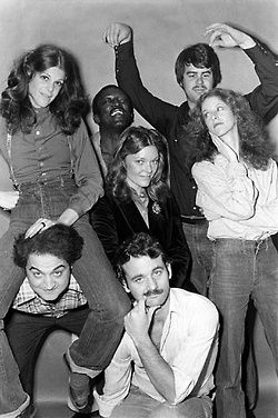 NBC's Saturday Night Crew (1970's)...this crew inspired me to try Second City-I did it.