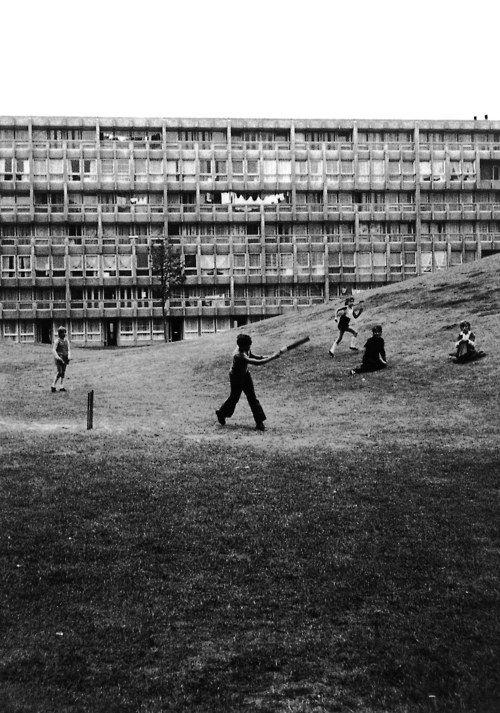 Robin Hood Gardens, Poplar, London, 1967-72 by Alison  Peter Smithson    (Alison  Peter Smithson)