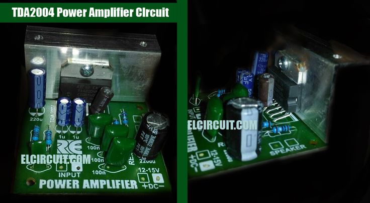 TDA2004 Audio Power Amplifier