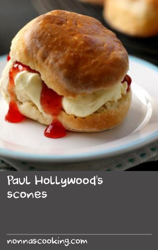Paul Hollywood's scones |      A simple recipe for soft and fluffy scones that are perfect with jam and plenty of clotted cream.