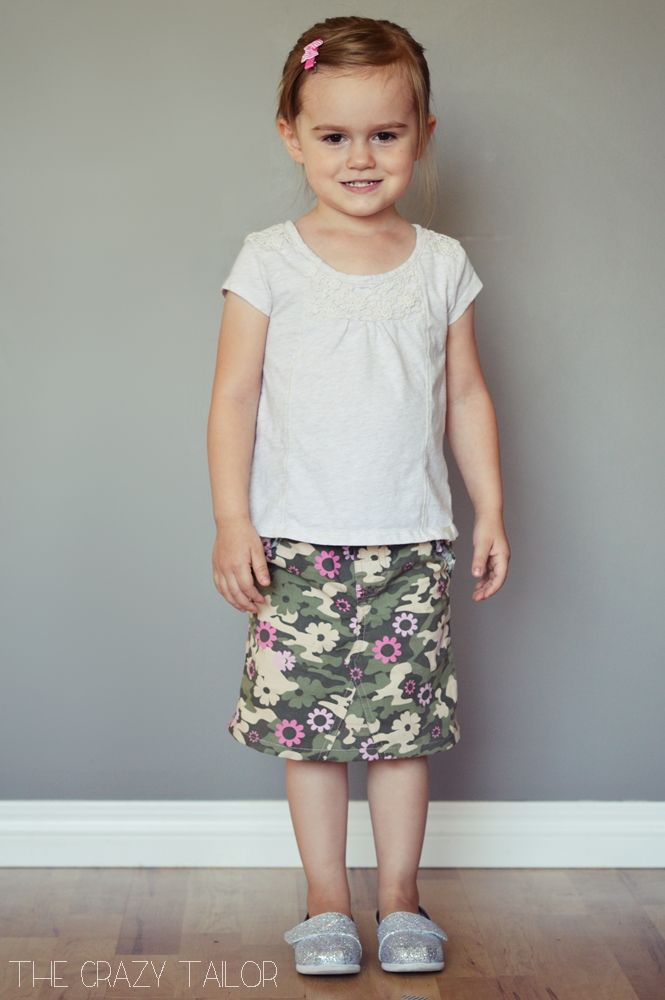 pants to Skirt Tutorial {From Rags to Riches}