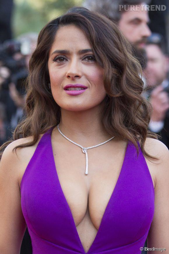 Salma Hayek, décolleté renversant pour l'actrice