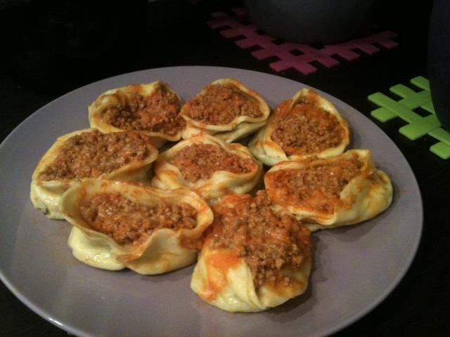 """""""Tortelli al ragù""""  trovate la ricetta qui - find the recipe here ---> http://www.facebook.com/media/set/?set=a.121624294591004.32210.121609514592482=3#!/photo.php?fbid=367366820016749=a.121624294591004.32210.121609514592482=3"""