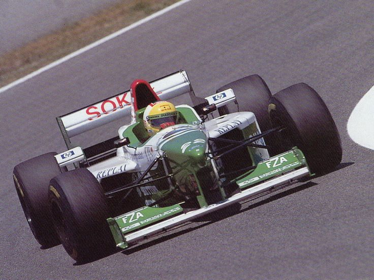1996 Forti Corse FG03 - Ford Luca Badoer