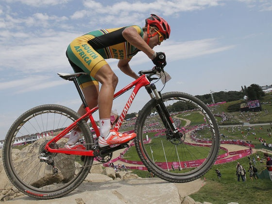 Burry Stander killed while training