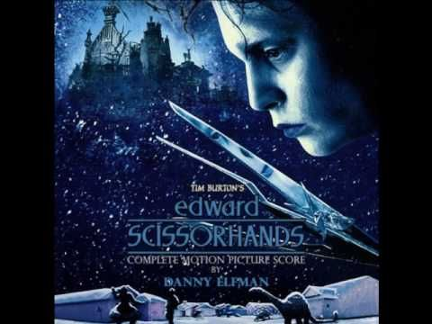 """<3<3<3<3<3 I love this song """"Edward Scissorhands"""" Original Expanded Soundtrack - Theme from Edward"""