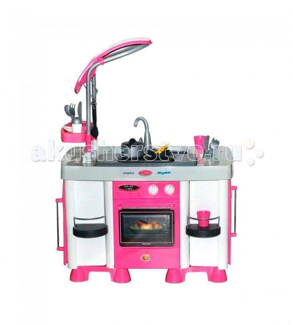 Coloma Кухонный модуль Carmen  Coloma Кухонный модуль Carmen предоставляет замечательную возможность готовить всей семьей. Мама-на своей кухне, а дети- на своей. Подрастающая хозяйка сможет, подражая маме готовить пищу, стирать и гладить вещи любимых кукол, а так же наводить порядок в своем игрушечном царстве. Кухни от Coloma-замечательная игра,которая может перерасти в нечто большее- в любовь к кулинарии, в помощь взрослым. Эта кухня создана для серьезной ответственной хозяйки. Стиль…