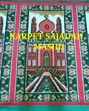 Toko online kami menyediakan berbagai jenis dan harga karpet sajadah yang tebal, nyaman, lembut, dengan motif, warna serta corak yang menarik meteran untuk masjid / mushola / rumah dengan harga murah serta terjangkau & berkualitas. Hubungi custumer service www.karpetbagus.com di : CS1 Ari HP : 085368376917 PIN BB : 5AC18563 CS2 Nisa HP : 0852 1899 0050 PIN BB : 53B583C7 CS3 Ratna HP : 082281833592 PIN BB : 52B1974F CS4 Syella HP : 0853 2526 6462 PIN BB : 2A831354