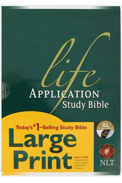 NLT Life Application Study Bible, Multiple Styles Available