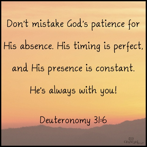 Deutoronomy 31:6