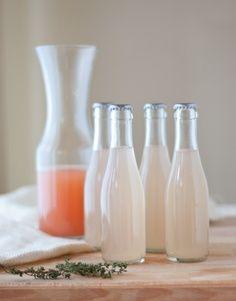 summer sodas  Grapefruit Thyme Gin