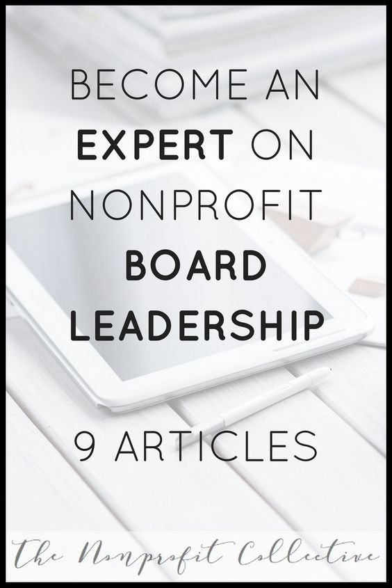 9 Helpful Articles on Nonprofit Board Leadership