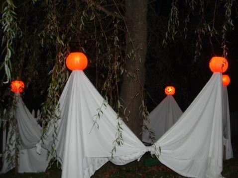 die besten 17 ideen zu diy outdoor halloween decorations auf, Hause ideen