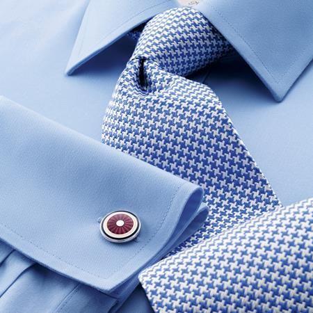 Sky twill non-iron Slim fit shirt