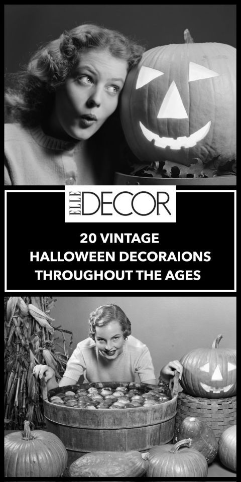 Pumpkins have always been in style, but the other decorations that have defined Halloween throughout the years may surprise you.