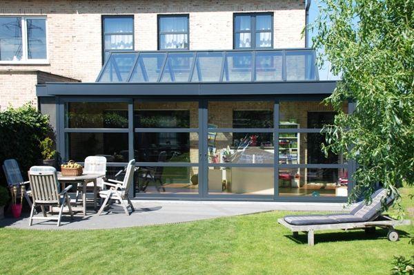 aluminium extensions   Esapace extensions - agrandissement maison Nord - Extension aluminium ...